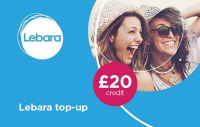 Lebara £20 mobile Top Up