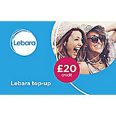 Lebara £20 mobile Top Up