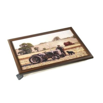 Stow Green Country Life Ferguson Tractor Bean Bag Lap Tray Laptray