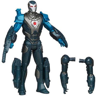 Marvel Iron Man 3 Assemblers 10cm Figure - Hypervelocity Iron Man