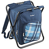 VonShef 2 in 1 Picnic Backpack Stool