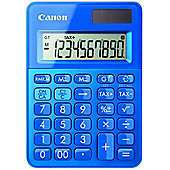 Canon LS-100K Desktop Basic calculator Blue