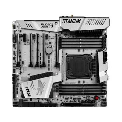 MSI X99A XPOWER GAMING TITANIUM Desktop Intel Socket 2011 Motherboard