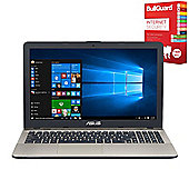 "ASUS VivoBook Max X541NA-GO230T 15.6"" Laptop Intel Pentium N4200 Quad Core 4GB 1TB with Internet Security"