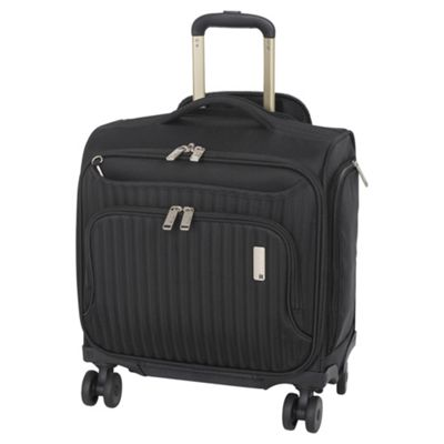 buy it luggage underseat 4 wheel black cabin bag from our. Black Bedroom Furniture Sets. Home Design Ideas