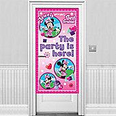 Minnie Mouse Door Banner - 1.7m