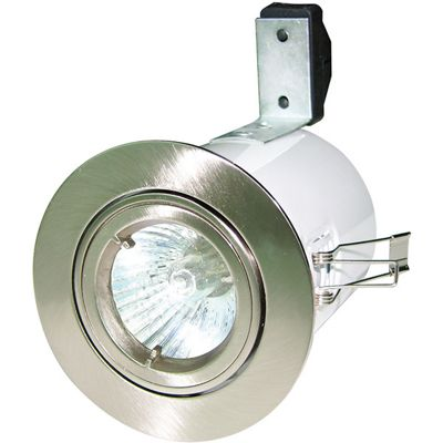 Robus 12V Directional Fire Rated Downlight - White (RF108-01)