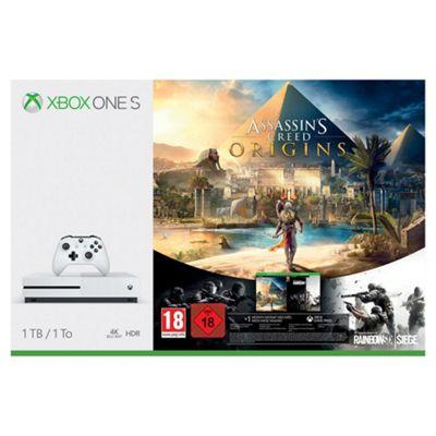 Xbox One S 1TB Assassins Creed Bundle