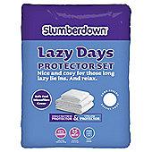 Slumberdown Lazy Days Single Protection Set