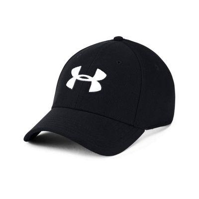 Under Armour Blitzing 3.0 Mens Stretch Fit Baseball Cap Hat Black - L/XL