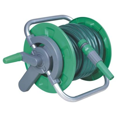 Tesco Hose & Reel set 15m