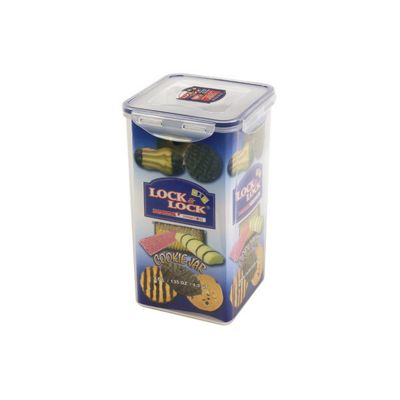Lock & Lock 4 litre Tall Square Cookie Jar (Set of 2)