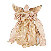 Gold Luxury Angel Christmas Tree Topper