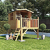 BillyOh Bunny Tower Children's Wooden Playhouse, 4ft x 4ft
