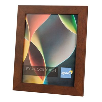 Kenro RIO Dark Oak Photo Frame to hold a A4/21x30cm photos.