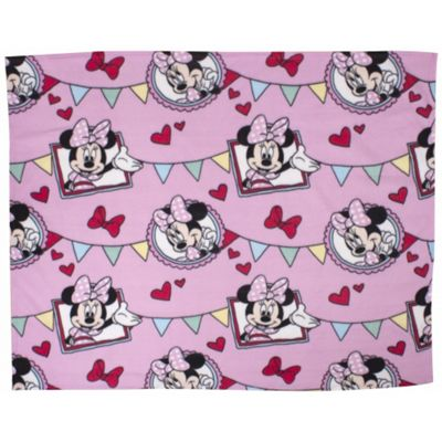 Disney Minnie Mouse Cafe Rotary Fleece Blanket