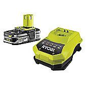 Ryobi RBC 18L15 One+ Battery & Charger 18 Volt 1.5Ah Li-Ion