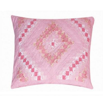 Woven Magic Trip Around The World Pink Cushion