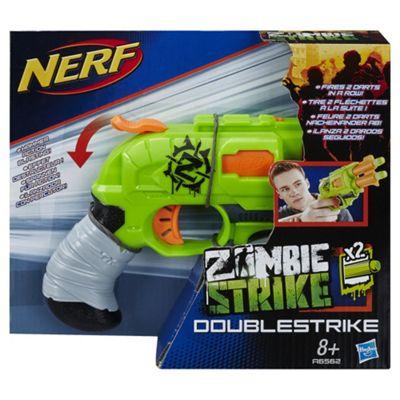Image is loading Nerf-Chainsaw-Gun-Zombie-Strike-Brainsaw-Dart-Blaster-