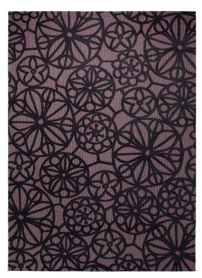Esprit Society Black / Brown Contemporary Rectangular Rug