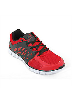 Woodworm Sports Ezr Mens Running Shoes / Trainers - Red
