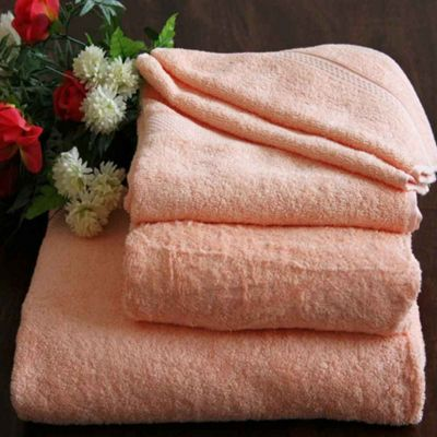Homescapes Turkish Cotton Peach Bath Towel