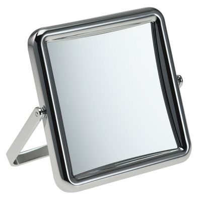 Famego 5x Magnification Folding Travel Mirror in Chrome