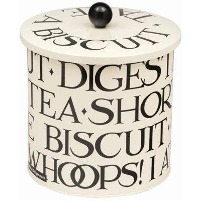 Emma Bridgewater Black Toast Biscuit Barrel