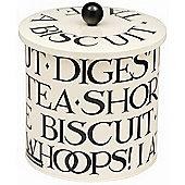 Emma Bridgewater Black Toast Biscuit Barrel