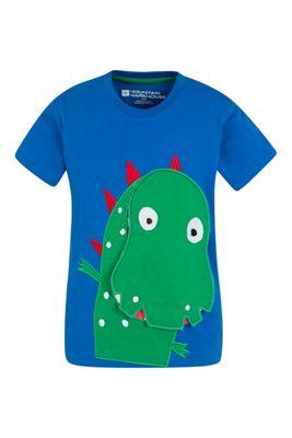 Mountain Warehouse Peekaboo Dinosaur Kids Tee ( Size: 2-3 yrs )