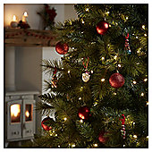 240 Multi-function LED Christmas Lights, Warm White