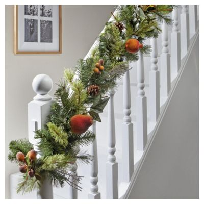 Tesco 6ft Garland with Fruit