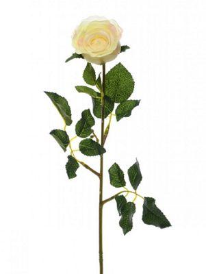 Artificial - Precious Rose Bud - Cream