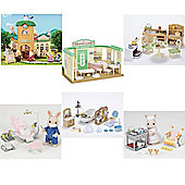 SYLVANIAN Families Country Village 6 Piece Set