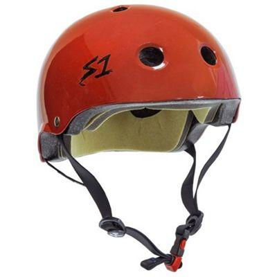 S1 Helmet Company Mini Lifer Helmet - Red Gloss (Small)