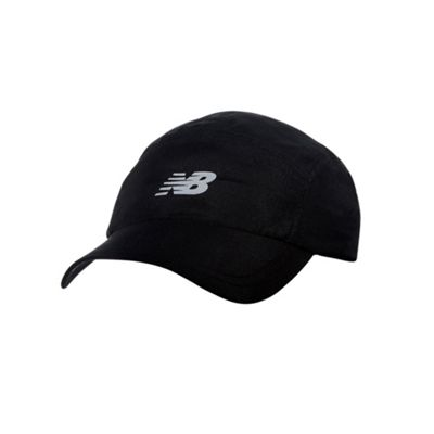 New Balance Mens 5-Panel Core Baseball Cap Hat - Black