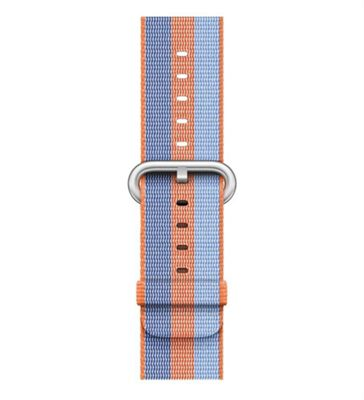 Apple 42mm Orange Woven Nylon