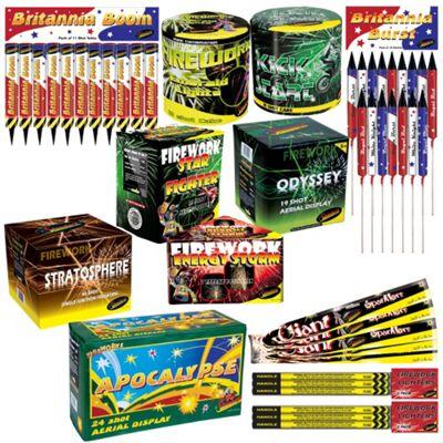 Buy Party Fireworks Kit from our Fireworks range - Tesco