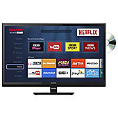 Sharp 24inch LC-24DHG6001K Smart HD Ready LED TV with Combi/DVD and Freeview HD