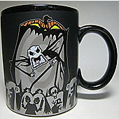 Nightmare Before Christmas Jack Scary Face Colour Change Thermal Mug - Gadgets