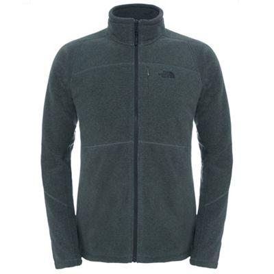 The North Face Mens 200 Shadow Full Zip Fleece Fusebox Grey 2XL