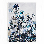 Art for Home Moody Blue Watercolour Canvas