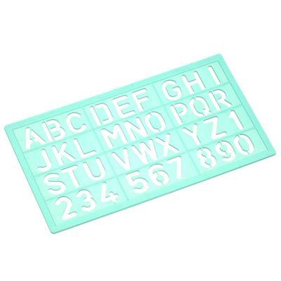 Linex Standard Lettering Stencil - 20mm