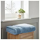 Fox & Ivy Egyptian Cotton Bathroom Textiles - Chambray blue