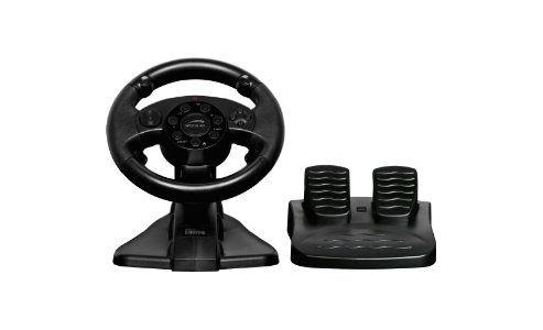 SPEEDLINK Darkfire Racing Wheel for PC/PS3, Black SL-6684-BK