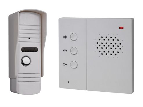 Byron IB71 Hands-Free Wired Audio Door Intercom