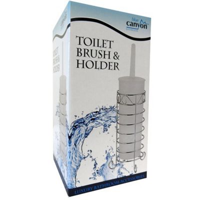 Blue Canyon Toilet Brush and Holder