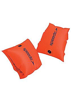 Speedo Sea Squad Kids Baby Swimming Pool Armbands Orange - 6-12 Years