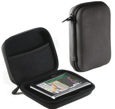 Navitech Black Hard Carry Case For GARMIN NUVI 67LM 6-Inch GPS