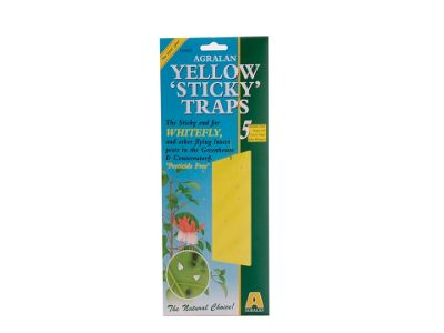 Agralan Ha522 Yellow Sticky Trap X5